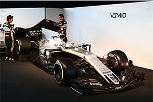 Voip Unlimited force india car